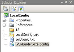 LocalConfig