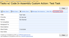 ViewTaskCodeInAssemblyCustomAction